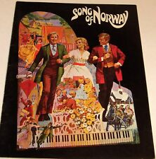 **Song of Norway**--Theater Souvenir Program 1970