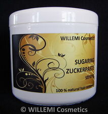 SUGARING Haarentfernung ZUCKERPASTE STRONG Sugar Waxing   500g