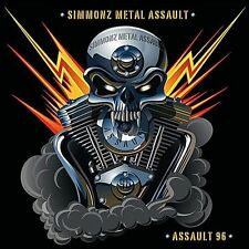 Simmonz Metal Assault-Assault 96  CD NEW