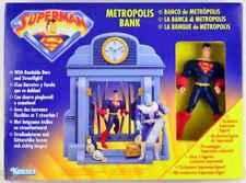 SUPERMAN METROPOLIS BANK Play Set - KENNER 1997 - factory sealed
