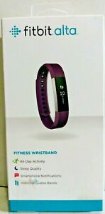 Fitbit Alta FB406PMS Activity Fitness Tracker Running Track Black Band Parts