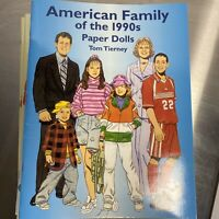 Vintage American Family of the 1990's Paper Doll Dolls Excellent Uncut