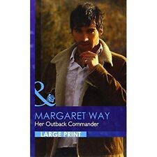 Margaret Way, Her Outback Commander (Romance Lp), Very Good Book