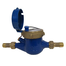 PRM 1/2 Inch NPT Multi-Jet Cold Water Meter With Pulse Output