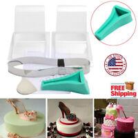 High Heel Shoe Kit Silicone Fondant Cake Mold Mould  Wedding Cake Decor