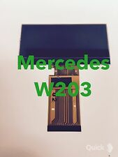 01-04 Mercedes C class,W203  Speedometer cluster LCD display screen C320 ETC