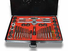 40 Piece Alloy Steel SAE Imperial Tap and Die Set