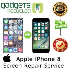 iPhone 8 Screen Replacement Repair Service -Same Day Repair & Return