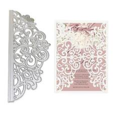 Lace Flower Metal Cutting Dies Stencil DIY Scrapbooking Album Paper Card Crafts