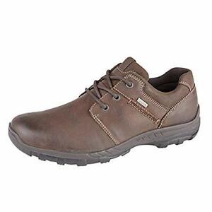 Mens Imac Leather Walking Shoes Breathable Waterproof Brown M332B New UK7-UK12