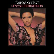 Linval Thompson(Vinyl LP)Follow My Heart-Burning Sounds-BSRLP944-EU-201-M/M