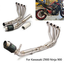 Full System for Kawasaki Z900 Ninja 900 Exhaust Pipe Motorcycle Header Muffler