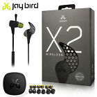 NEW JayBird X2 Sport Bluetooth wireless Headphones MIDNIGHT BLACK