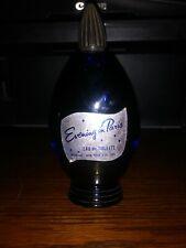 Evening In Paris EDT Splash 2.0 Oz. By Bourjois.Vintage. Blue Full Bottle NOS