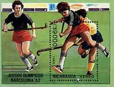 Timbre Sports JO Hockey Nicaragua BF192 ** lot 18098