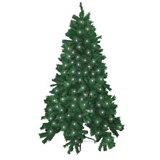 Pre Lit 6ft Christmas Tree & Stand 480 Tip 120 LED Multi Function Lights