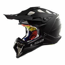 L Large Airflow LS2 Subverter MX Motocross Motorbike Helmet Matt Black RRP$319