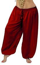 RENAISSANCE DRESS-UP BELLY DANCE PIRATE COSTUME TRIBAL GYPSY GENIE HAREM PANTS