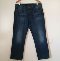 Joes Mens Jeans The Rebel Fit Mid Rise Size W 34 Medium Blue Washed Denim