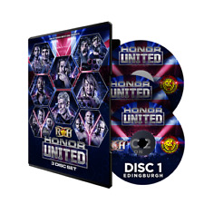 Official ROH Ring of Honor - Honor United UK Tour 2018 - 3 Event DVD Set