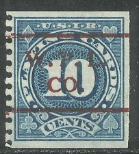U.S. Revenue Playing Cards stamp scott rf20 - 10 cents issue of 1926 - #4