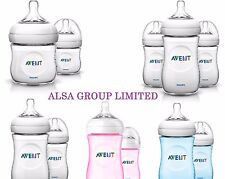 Philips Avent NATURAL 125 / 260ml Single Twin Triple Packs Baby Feeding Bottles
