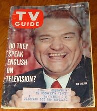 1960 TV GUIDE COVERS ONLY~RED SKELTON~FREDDIE THE FREELOADER~CLEM KADIDDLEHOPPER