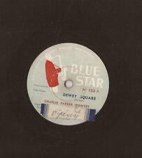 """10"""" - 78 RMP CHARLIE PARKER QUINTET - MILES DAVIS - Dewey Square - LUE STAR 153"""