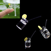 2pcs mini dollhouse lemon water cup dollhouse accessories toy kids toys gift FT