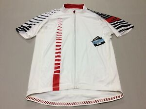 PERFORMANCE APPAREL ULTRA HIGH VISIBILITY REFLECTOR CYCLING JERSEY MENS 3XL NEW!