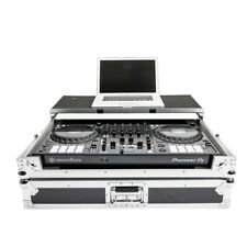 Magma DJ Controller Workstation Padded Flight Case for Pioneer DDJ-1000 & Laptop