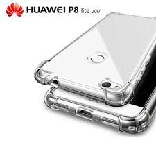 Funda Gel TPU Transparente Antigolpes para Huawei P8 Lite 2017