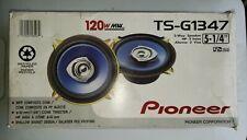 New listing Pioneer Ts-G1347 2-Way 5.25in. Car Speaker