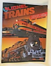 Vintage 1992 Lionel Trains Catalog Toy Electric Accessories Book 1 0 & 027 Gauge