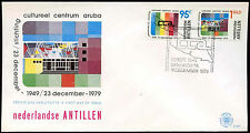 Netherlands Antilles 1979 Cultural Centre Foundation FDC First Day Cover #C26700