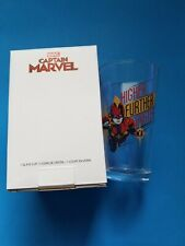 New listing Marvel Comics Captain Marvel Pint Glass Marvel Collector Corps Exclusive