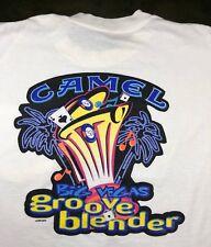 Vintage Mens XL 1996 90s Camel Cigarettes Tobacco Groove Blender Pocket T-Shirt