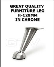 CHROME FURNITURE  LEG HEIGHT 128MM  FOR FURNITURE SOFA CABINET MN-726