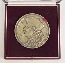 Médaille DIRK MARTENS Humanisme Aglane de Nivelles en bronze Aalst 1973