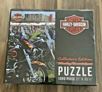 Harley Davidson Collector's Edition 1000 Piece Motorcycles Puzzle NEW