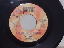 "Garage Rock Promo Them ""I Can Only Give You Everything/Don't Start Crying Now"
