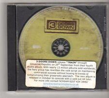 (FZ549) 3 Doors Down, Train - 2008 DJ CD