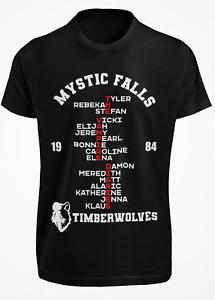 The Vampire Diaries inspired T shirt - Mystic Falls Salvatore. Xmas Gift ideas