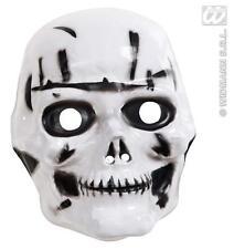 Para Niños De Plástico cráneo máscara Esqueleto Halloween Vestido De Lujo