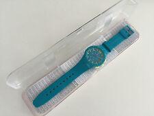 Swatch chronograph-turquesa con embalaje original-informalmente freizeituhr S. fotos