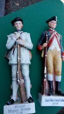 "2nd Maryland Infantry 1777 12"" Figurine Andrea by Sadek 6773 and Virginia riflem"