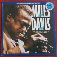 MILES DAVIS LP LIVE MILES MORE MUSIC FROM THE LEGENDARY CARNEGIE HALL CONCERT