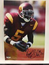 USC Trojans REGGIE BUSH FULL AUTO signed Autographed 8x12 photo PSA/DNA