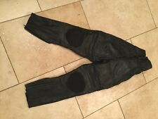 J&S ladies leather motorcycle trousers size 10