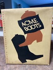 1960 Acme Boots, old stock, 12 E